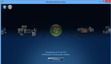 windows-media-center-configurazione