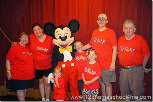 Finding family members at Magic Kingdom parks