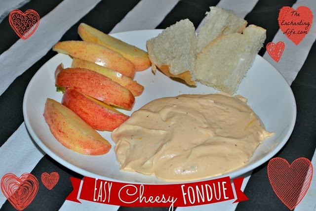 Easy Cheesy Fondue Recipe