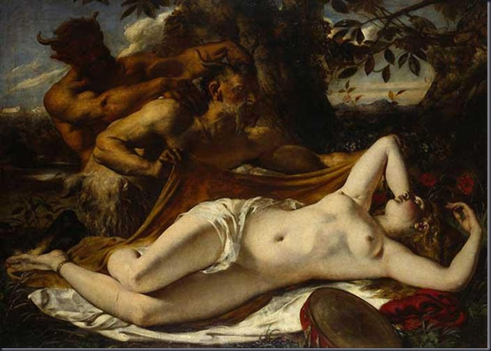 William-Etty-Sleeping-Nymph-Satyrs
