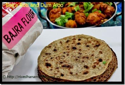 Rajasthan - Bajra Roti
