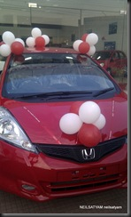 Honda Jazz design