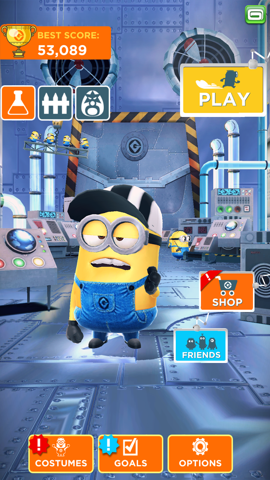 Men With His Pens Despicable Me Minion Rush Game 39 S