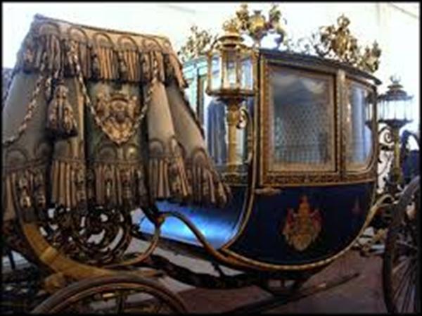 Carroza del rey Luis II de Baviera