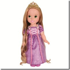 Toddler Rapunzel