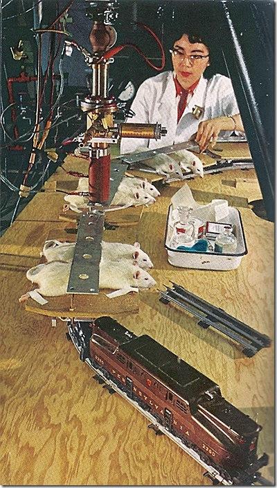 Игрушечная железная дорога на службе науки - Лучевая терапия - как это начиналось