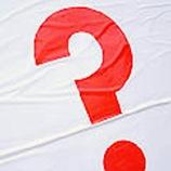красный знак вопроса