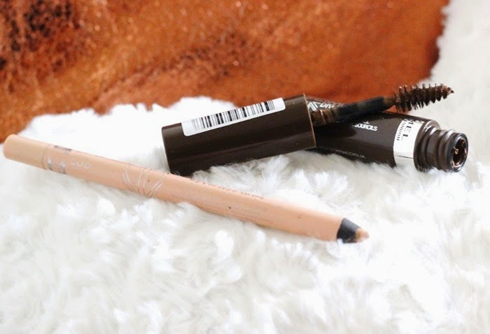 Rimmel Scandal Eyes Nude liner Rimmel Brow this way 02 medium brown