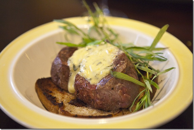 Tournedos with Béarnaise Sauce