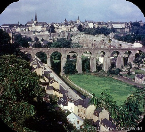 View-Master The Five Little Countries of Europe (B149), Scene 1: Luxembourg City