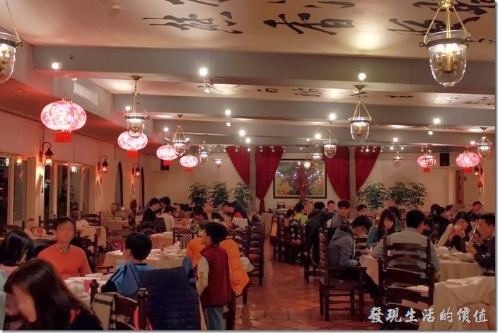 花蓮-理想大地渡假村中餐廳。理想大地中餐廳內的景色。