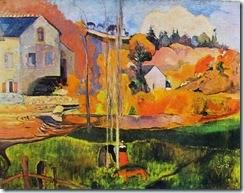 33 Paul Gauguin-mulino David a pont-aven