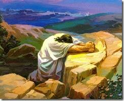 Jesus na Agonia no Horto das Oliveiras