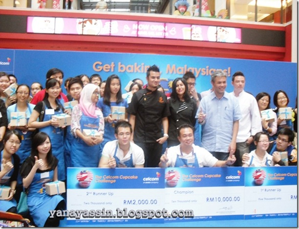 Pemenang Celcom Cupcake  248