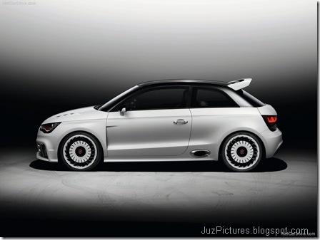Audi A1 clubsport quattro Concept 5