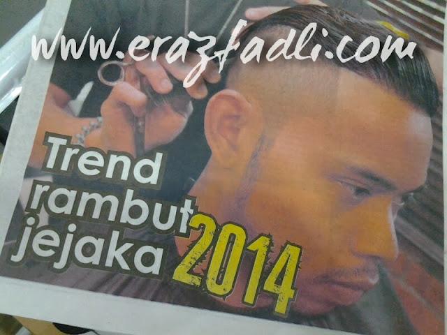 Trend Rambut Jejaka 2014