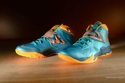 nike zoom soldier 7 gr turbo green 2 09 Release Reminder: Zoom Soldier VII Turbo Green / Atomic Mango