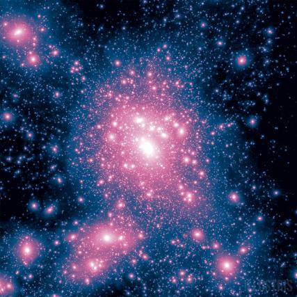 simulação apresenta um Universo surpreendentemente semelhante ao real