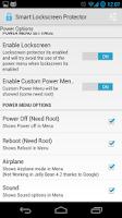Screenshot of Smart Lockscreen protector