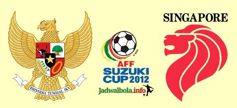 Indonesia vs Singapura AFF Suzuki Cup 2012