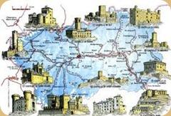 valle d'aosta mappa castelli