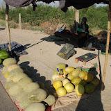 Hami - Etal melon et pasteque bord de la route