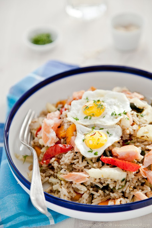 WInter Salmon Kedgeree (0319) by Meeta K. Wolff