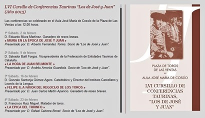 2013 Conferencias Los de José y Juan
