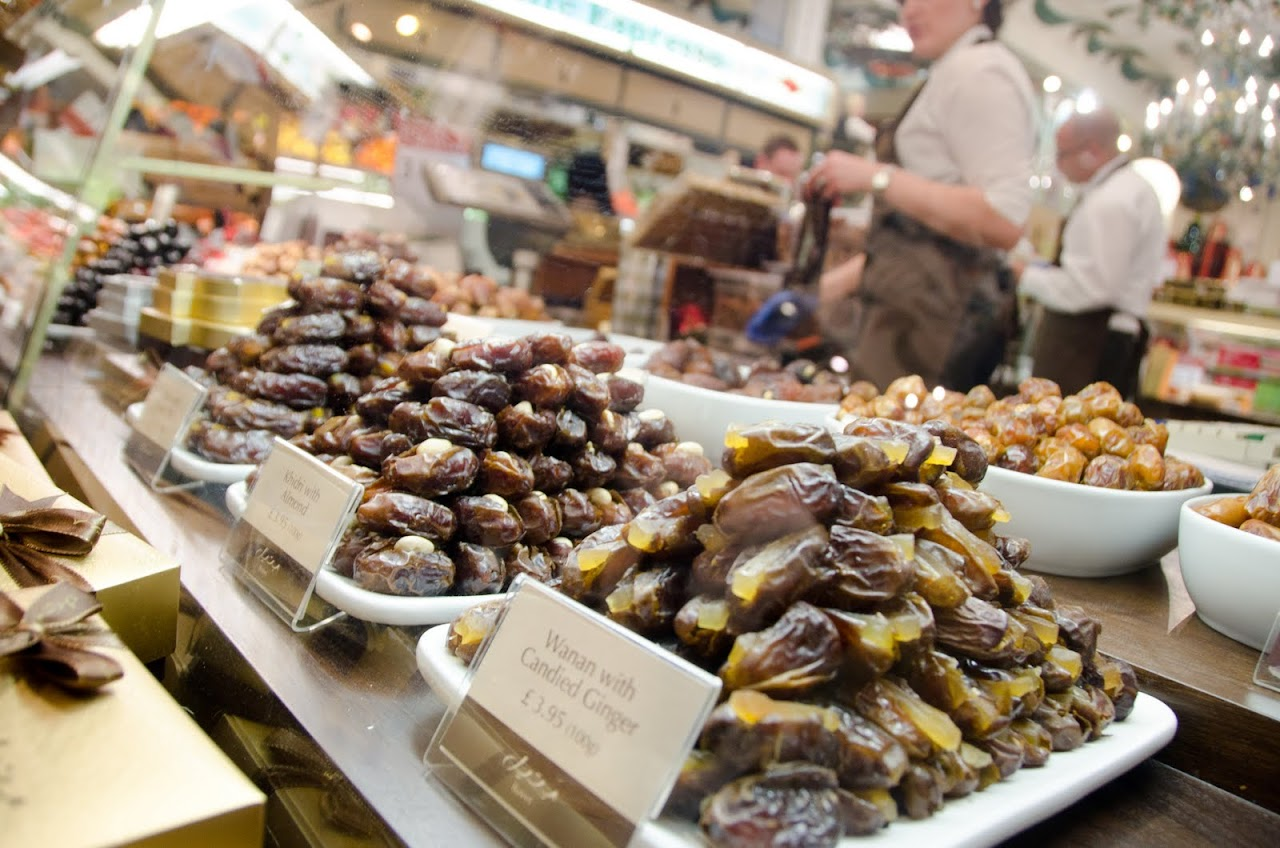 Dates at Harrods Food Hall