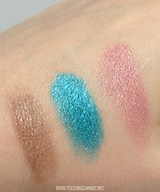 Essence Metal Glam Eyeshadow - Coffee to Glow, Frosted Apple, Jewel Up The Ocean