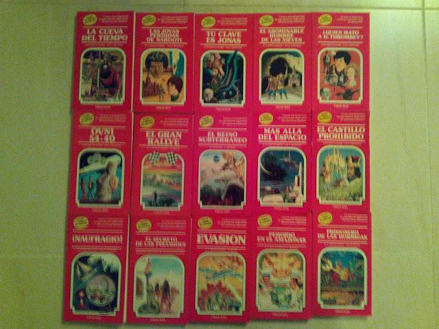 Algunas portadas de la colección