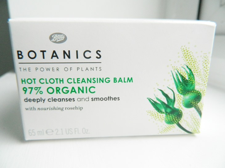 Boots botanics hot cloth cleansing balm review swatch