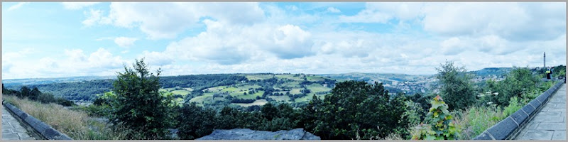 Yorkshire views stitch