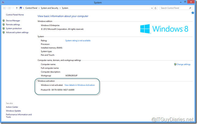 why is my windows 8 product key not working