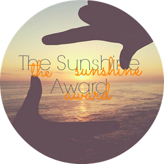 The Sunshine Award Button