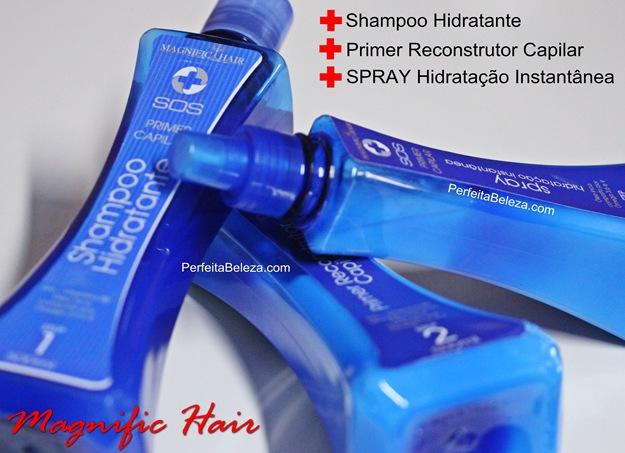 reconstrução para cabelos elásticos, magnific hair, sos primer capilar magnific hair
