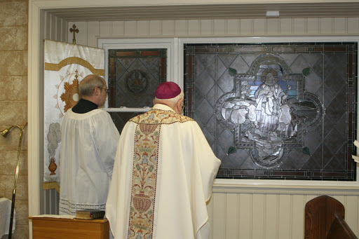 Dedication of the Good Shepherd Window at the McNeleys&#39; Chapel