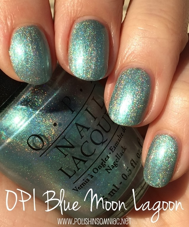 OPI Blue Moon Lagoon