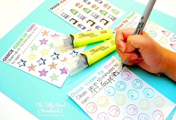 Quick Clean Up Time Reward Printables 5