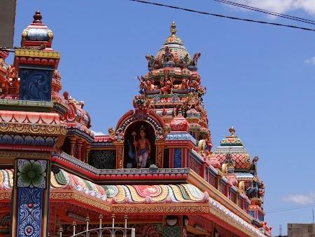 Obiective turistice Port Louis: Templu hindus