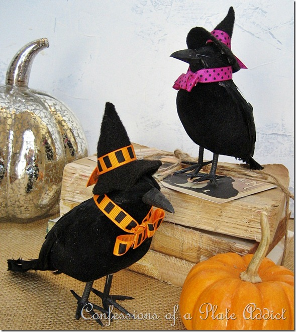 CONFESSIONS OF A PLATE ADDICT Wisteria Inspired Witchy Crows 4