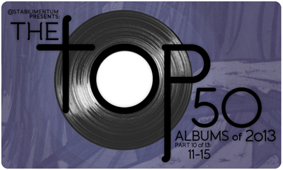 The Top 50 Albums of 2013, Part 10