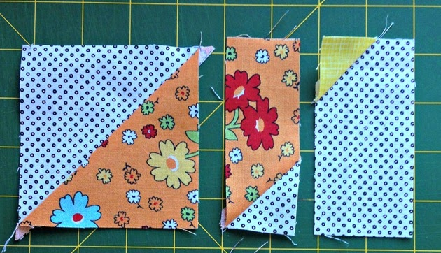 Wonky Birds Piecing