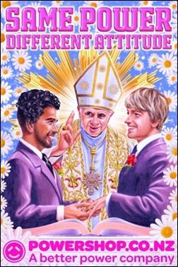 Papa casamento gay