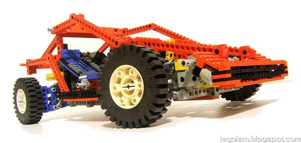 Legoism Flashback 8865 Test Car