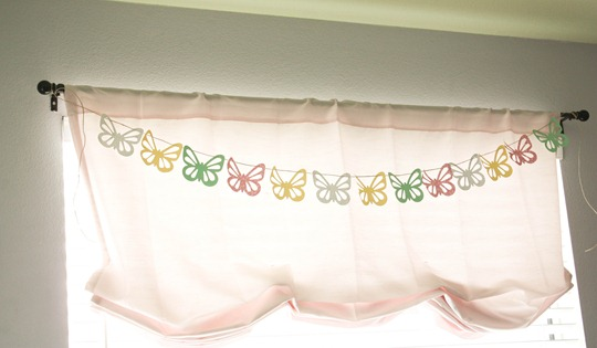 butterfly banner