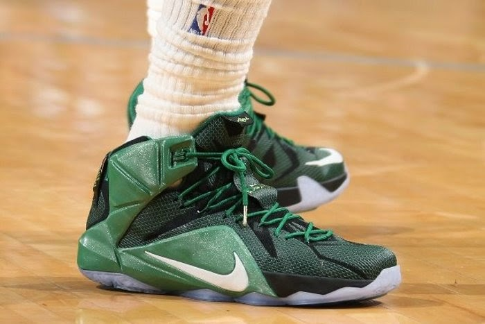 161ea8ca1d4 King James Takes Part in NBA Green Week With Special LeBron 12 PE ...