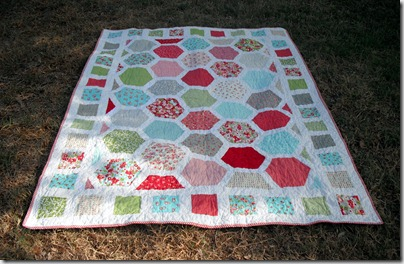 Hexagon Adult Quilt 1