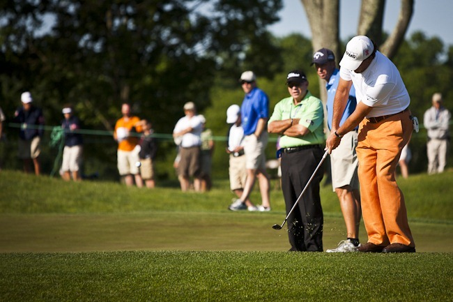 Phil Mickelson at 2011 US Open-6