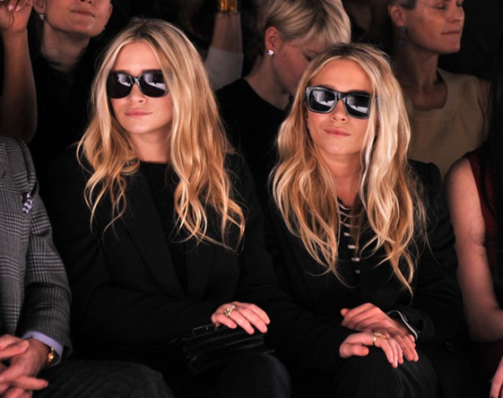 Ashley Olsen J Mendel Front Row Fall 2012